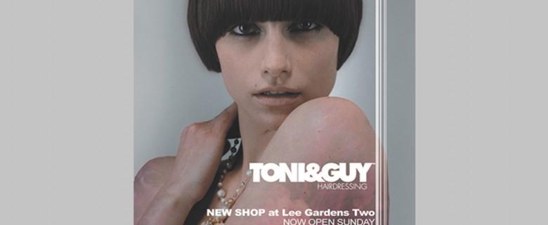 TONI&GUY 宣傳海報及單張
