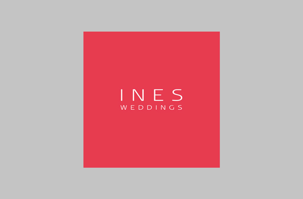 INES Wedding Logo Design//INES Wedding Logo Design