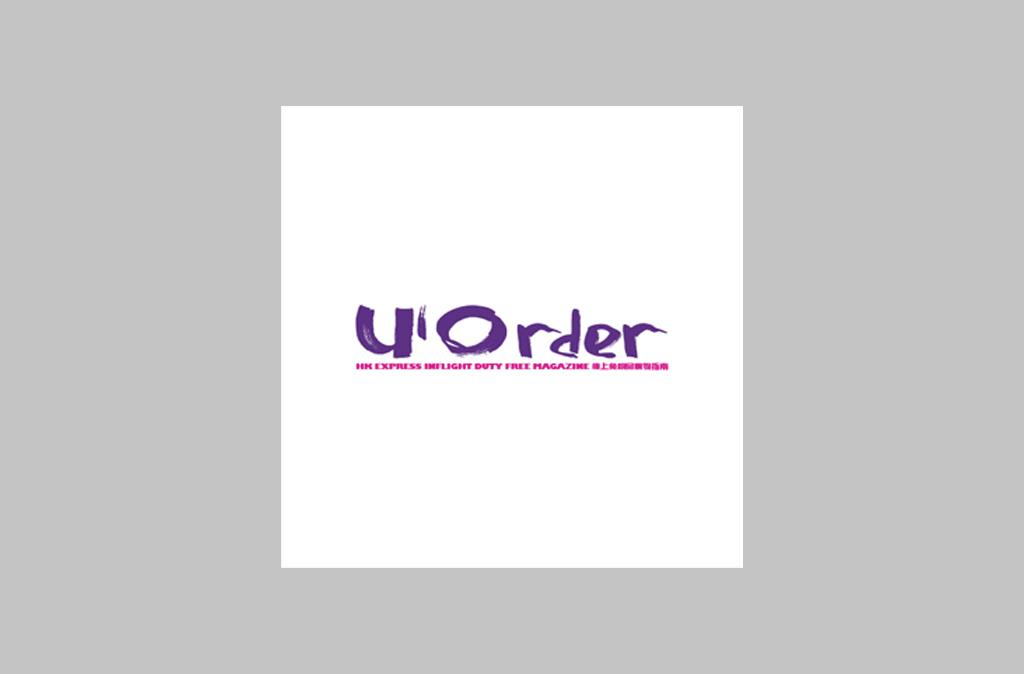 U'Order Magazine Logo Design//U'Order Magazine Logo設計