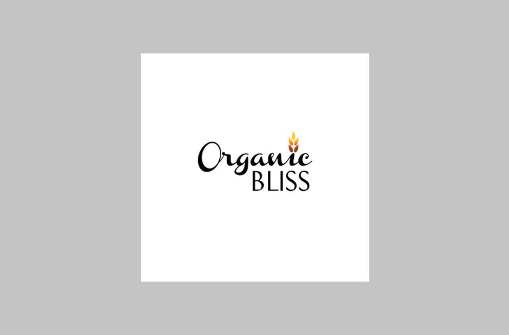 Organic Bliss Logo Design//Organic Bliss Logo設計