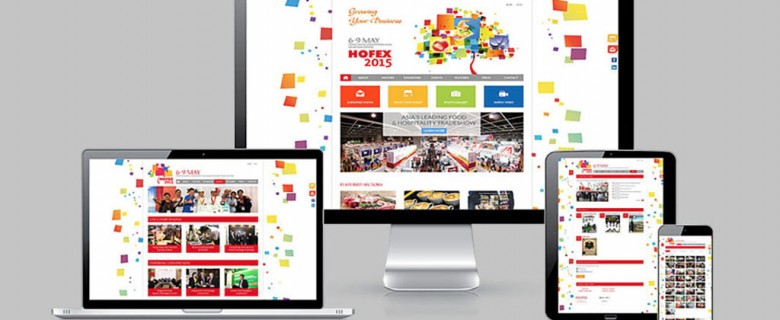 Hofex 2015 Website