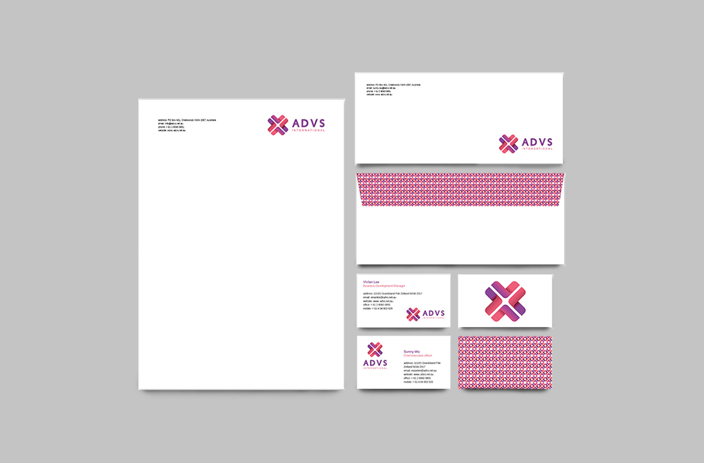 ADVS Identity Template Design