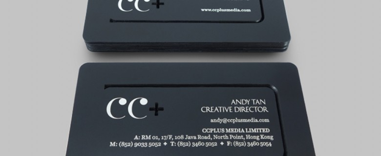 CC+ Business Card Design