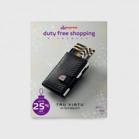 Duty free shopping Inflight Shopping Magazine 2018 (Oct-Dec Issue)