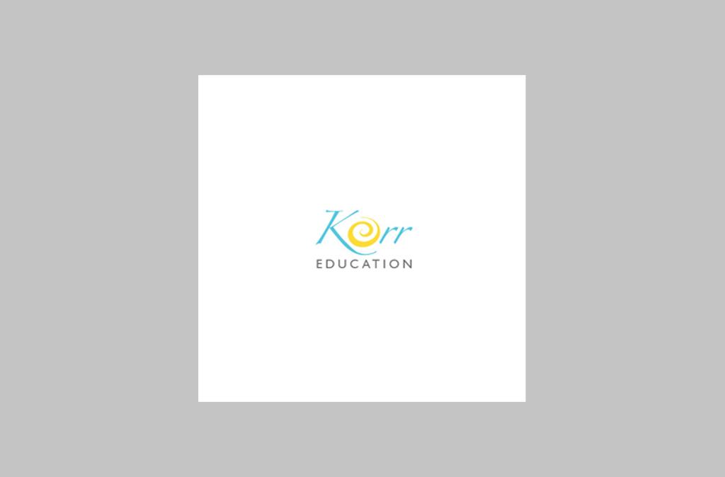 Korr Education Logo Design//Korr Education Logo設計