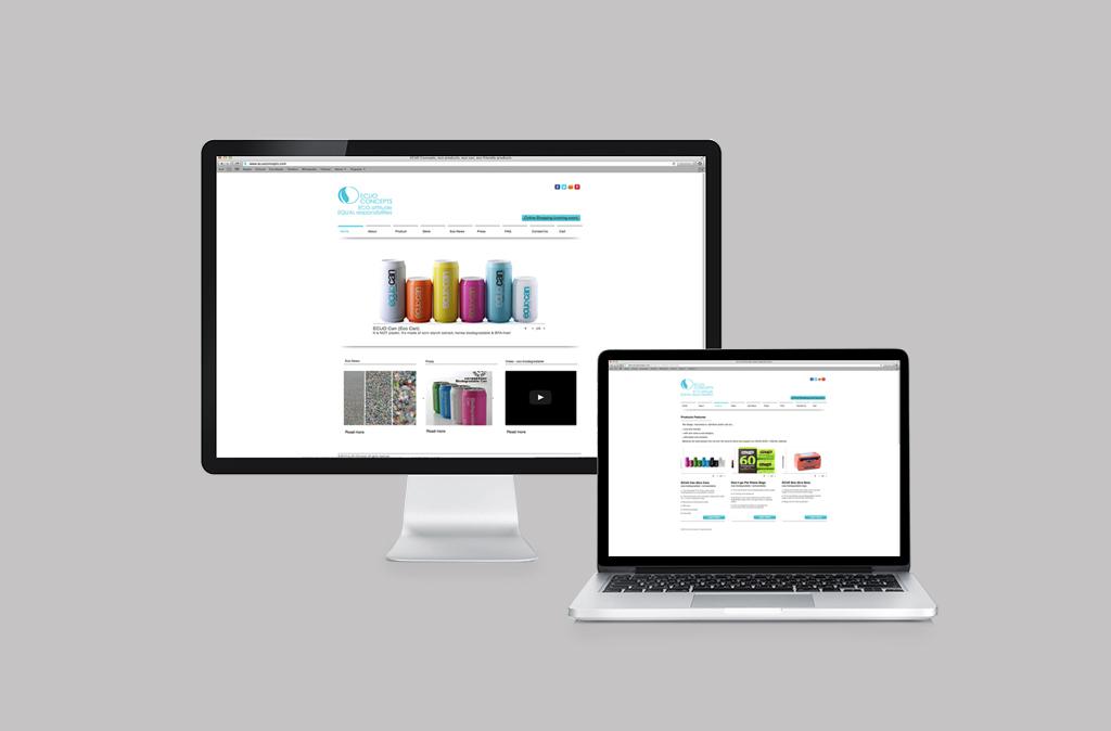 ECUO Website Design//ECUO 網站設計